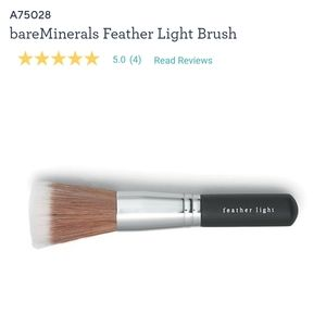7/5/20 - Bare minerals feather light brush